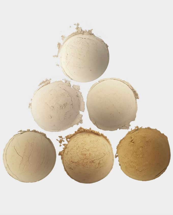 matte mineral foundation samples