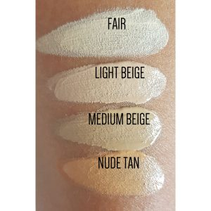 Liquid Mineral Base swatches