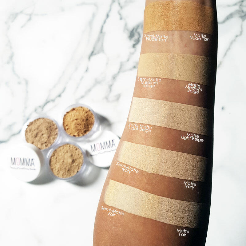 Mineral base swatch