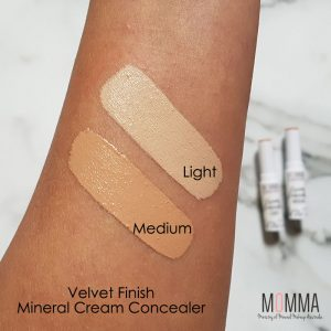 Mineral concealer swatch