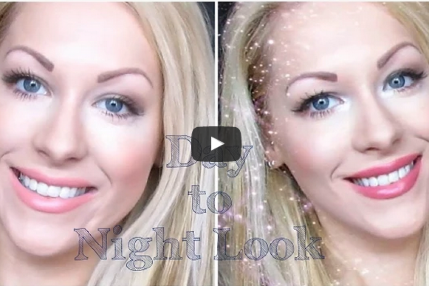 How To Transform Natural Everyday Makeup To Glam For Night – Video Tutorial