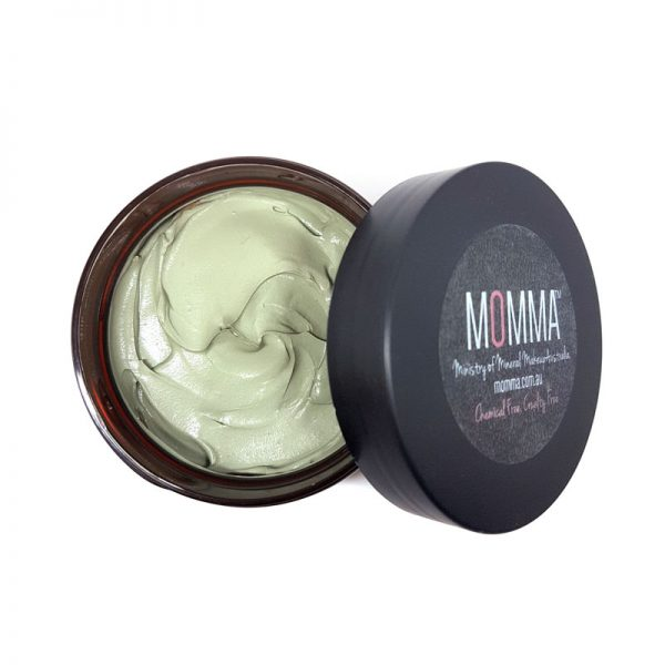 shea butter clay mask with aloe and vitamin E